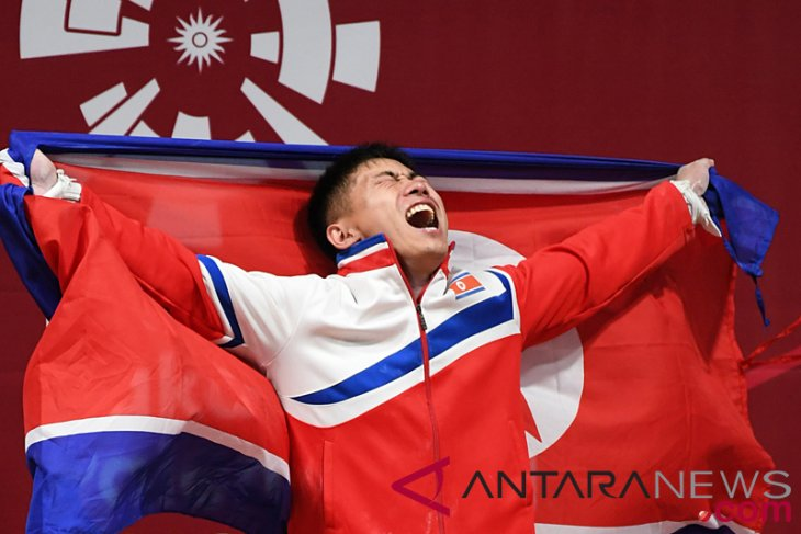 Asian Games (weightlifting) - North Korea wins  most weightlifting medals
