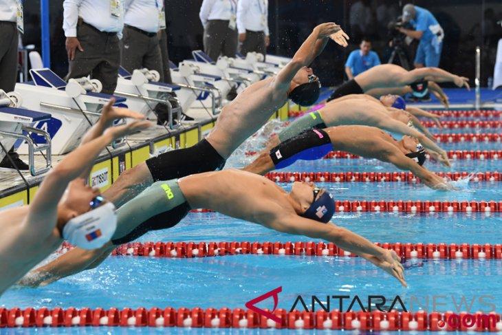 Swimming at the 2018 Asian Games – Men's 100 metre ...
