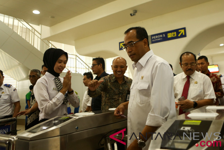 Minister allocates Rp300 billion to subsidize rate of  LRT Palembang