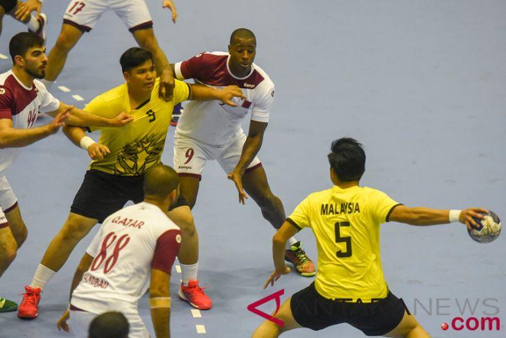 Asian Games (handball) - Qatar beats Malaysia  64-11