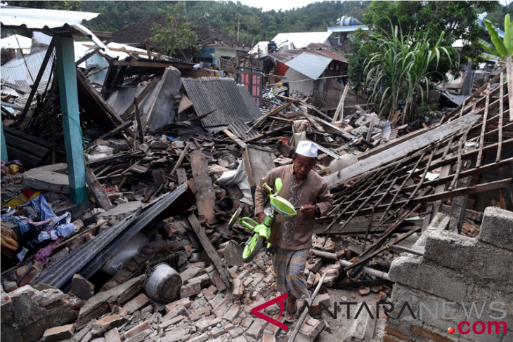 163 aftershocks occur in Lombok on Monday afternoon: Geology agency