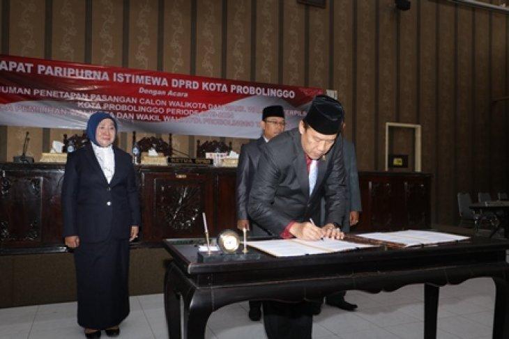 Rapat Paripurna DPRD Kota Probolinggo Tetapkan Wali kota dan Wakil Wali kota Terpilih