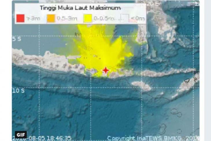 Adanya potensi gempa magnitudo 8,7, berikut penjelasan BMKG