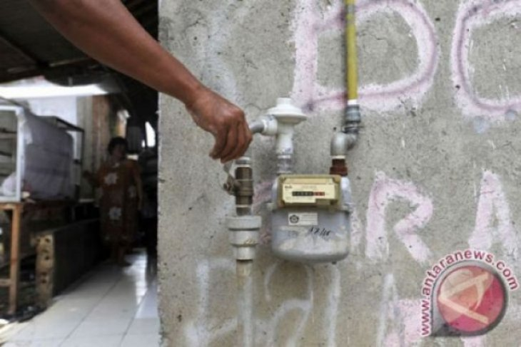 Bocor, gas amonia di Pabrik Es Badung