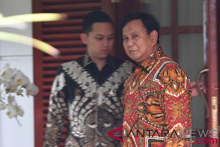 Prabowo akan umumkan nama cawapres malam ini