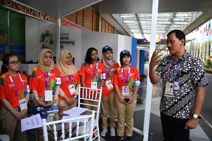 INASGOC reviews readiness of volunteers