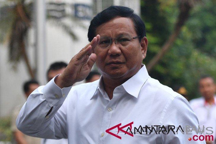 Prabowo bantah jiplak slogan Donald Trump