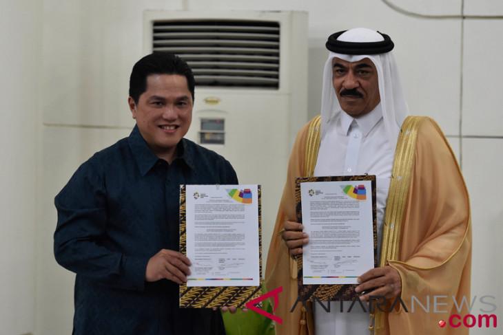 Asian Games - Inasgoc-Qatar airways sign sponsorship agreement
