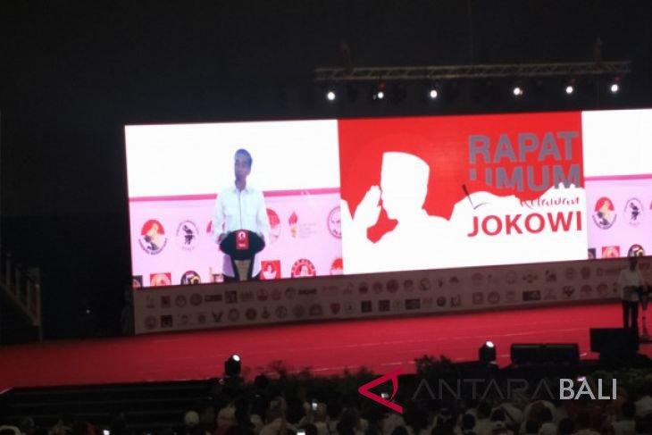 Jokowi hadiri Rapat Umum Relawan Jokowi
