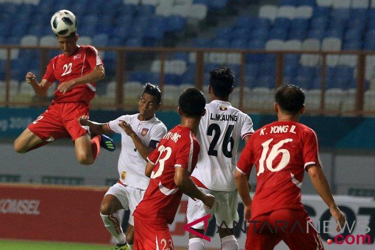 Asian Games (soccer) - North Korea team to face Saudi Arabia