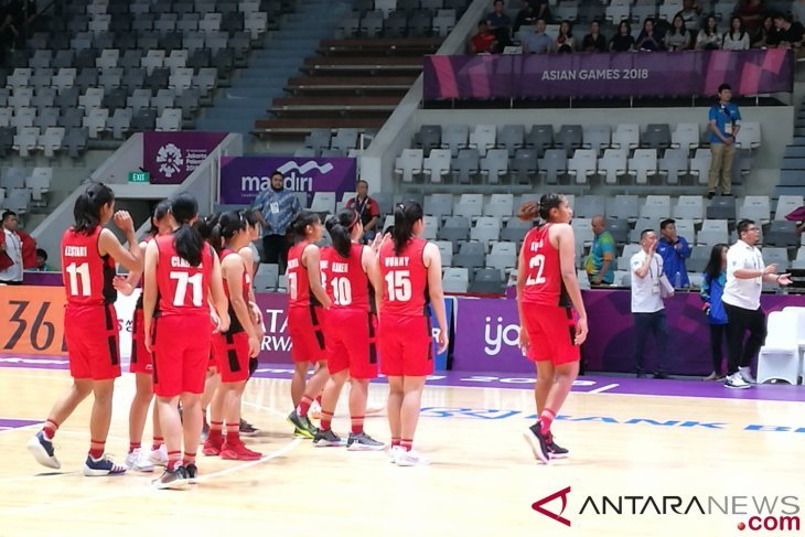 Indonesia peringkat ketujuh basket putri setelah taklukkan Mongolia