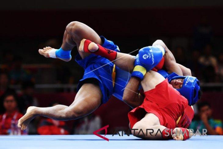 Indonesia gains bronze in men`s 70-kg Sanda