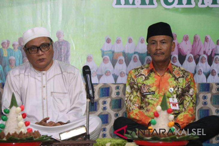 Dahnial hadiri khataman Al Qur'an Ponpes Ibnu Atha'illah