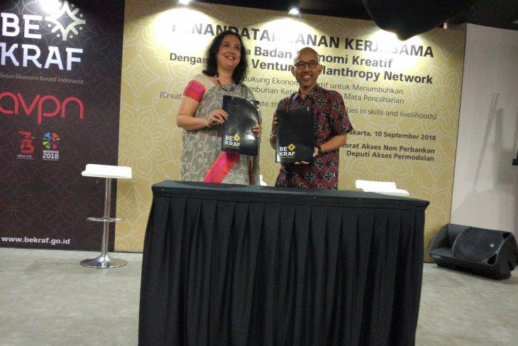Bekraf collaborates with AVPN to develop creative economy