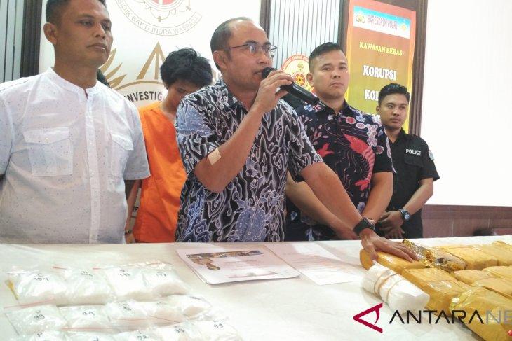 Police seize 20kg of methamphetamine smuggled from Malaysia