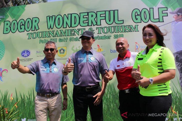 Dinas pariwisata apresiasi Bogor Wonderful Golf Tournament
