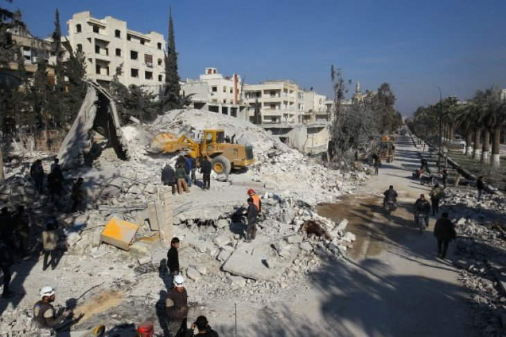 Sedikitnya delapan orang tewas akibat bombardir di Idlib Suriah