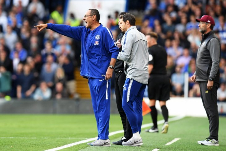 Maurizio Sarri: Liverpool masih selangkah di depan