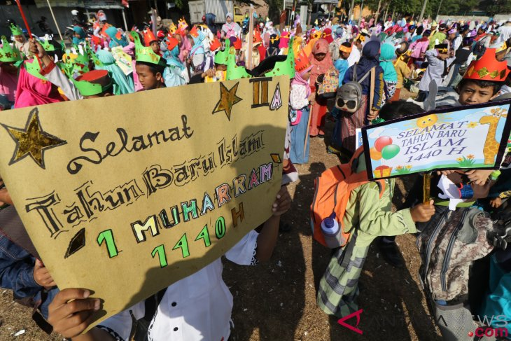 Indonesian Muslims celebrate Islamic New Year