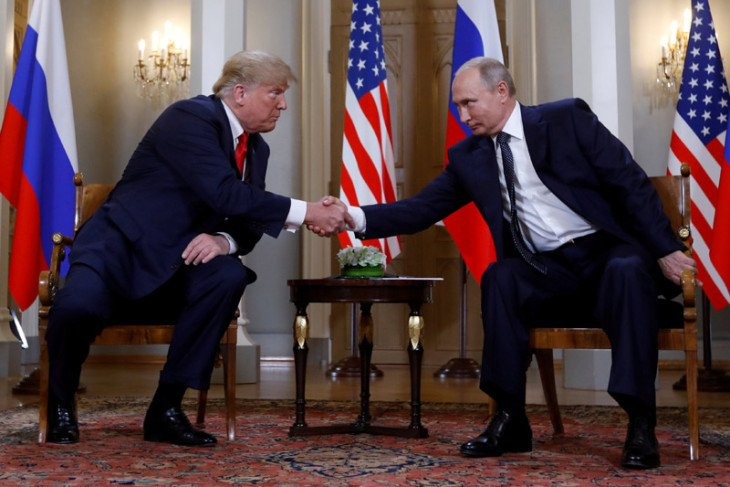 Donald Trump sebut akan bertemu Putin di KTT G20