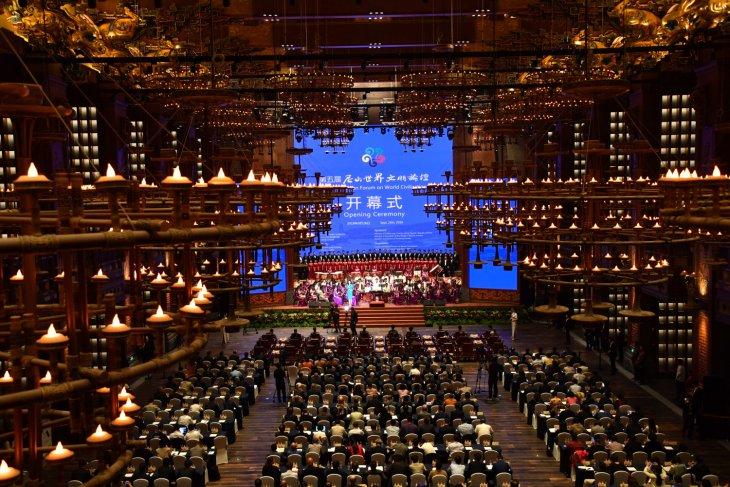 The 2018 China (Qufu) International Confucius Cultural Festival & the Fifth Nishan Forum on World Civilizations opened in Qufu, China