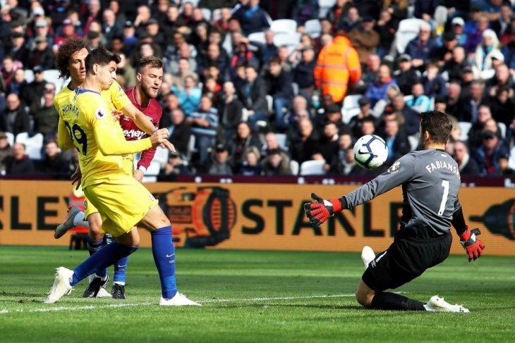 West Ham hentikan rentetan kemenangan Chelsea