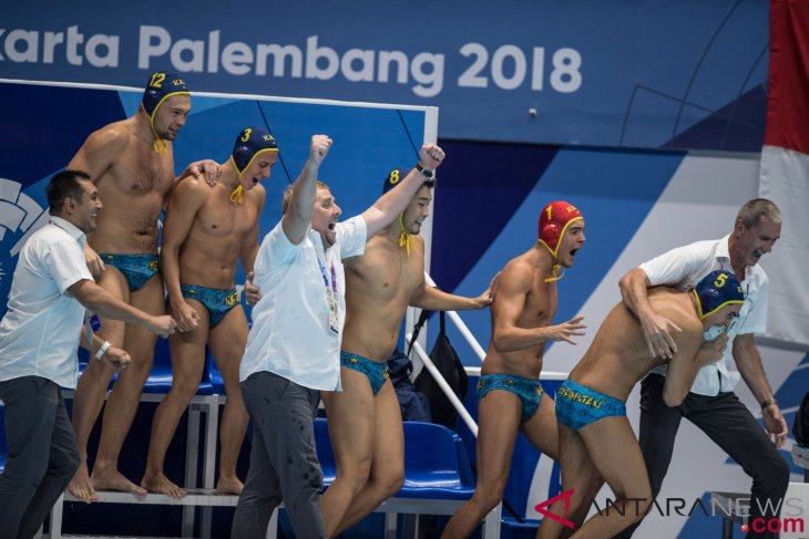 Asian Games (water polo) - Kazakhstan wins gold medal after defeating Japan