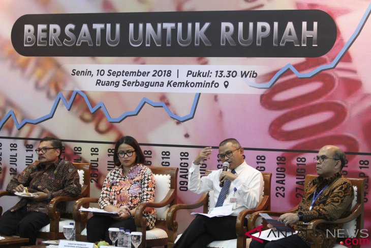 Rupiah falls in opening of inter-bank transactions on Tuesday