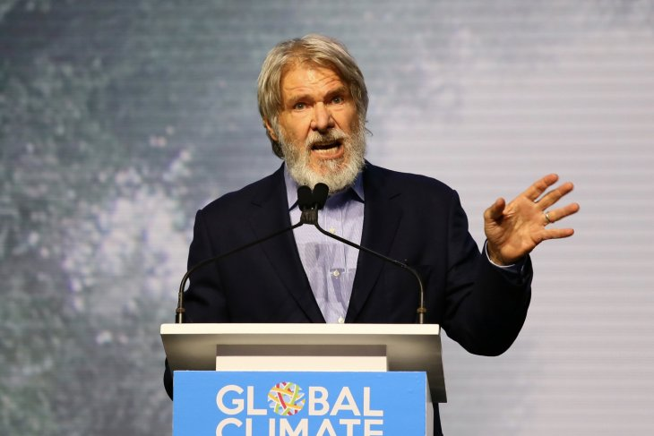 Success of Paris Agreement depends on Sumatran forests: Harrison Ford