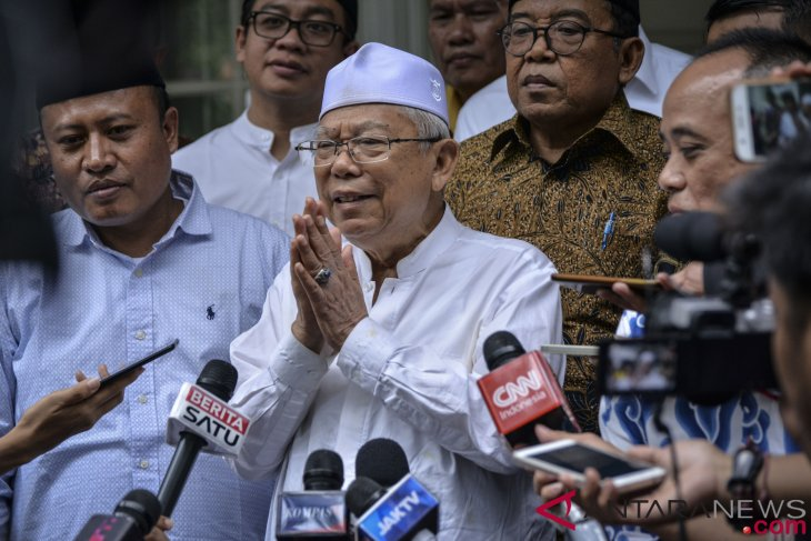 Ma`ruf Amin eager to meet Ahok supporters