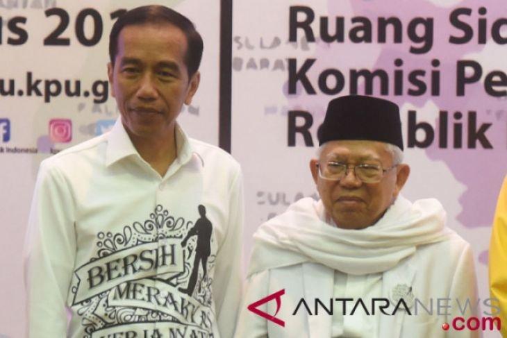 Ma'ruf Amin keliling Bogor untuk memulai kampanye tahun 2019