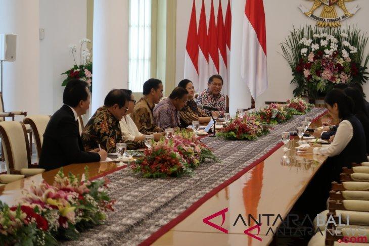 Jokowi terima Jack Ma