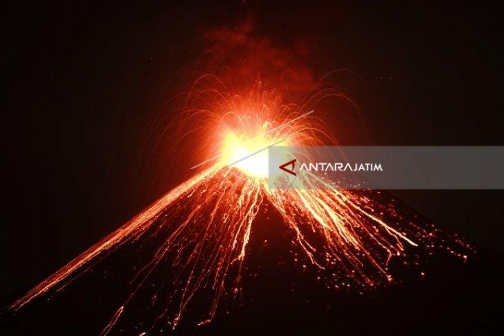 PVMBG: Anak Krakatau Alami 46 Kegempaan Letusan