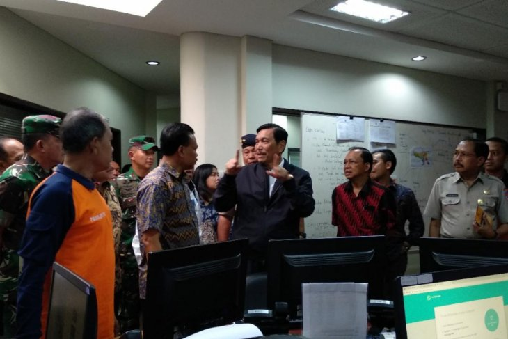 Menko Kemaritiman kagumi kecanggihan Pusdalops BPBD Bali