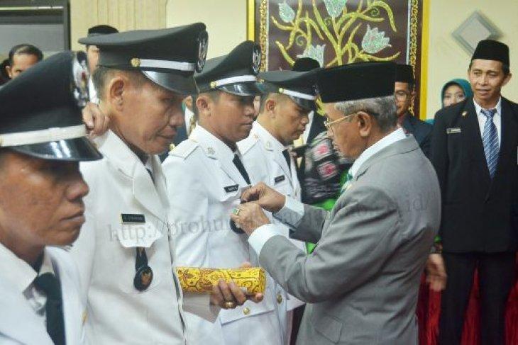 Bupati lantik tiga pimpinan Tinggi Pratama