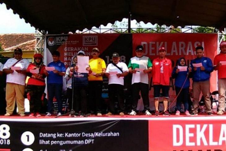 Jelang Pemilu 2019, Honor PPK Kabupaten Kediri Belum Dibayar Dua Bulan