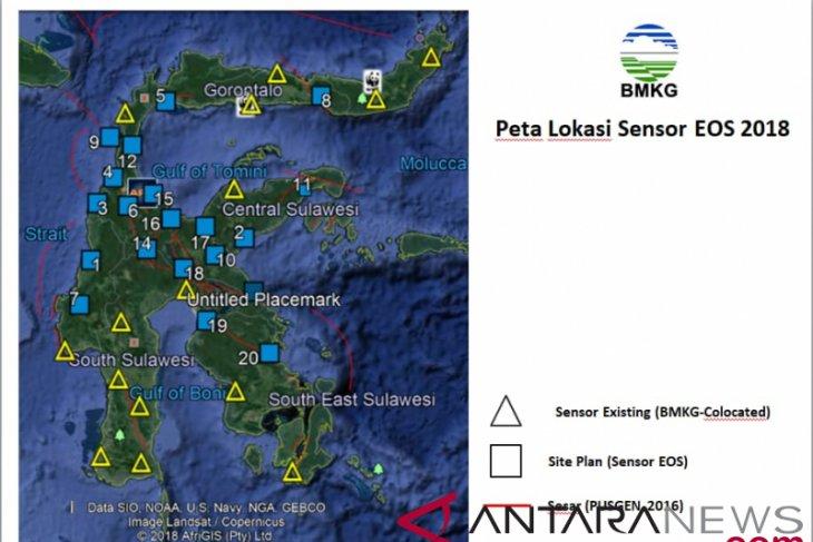 BMKG installs 20 portable seismographs in Sulawesi
