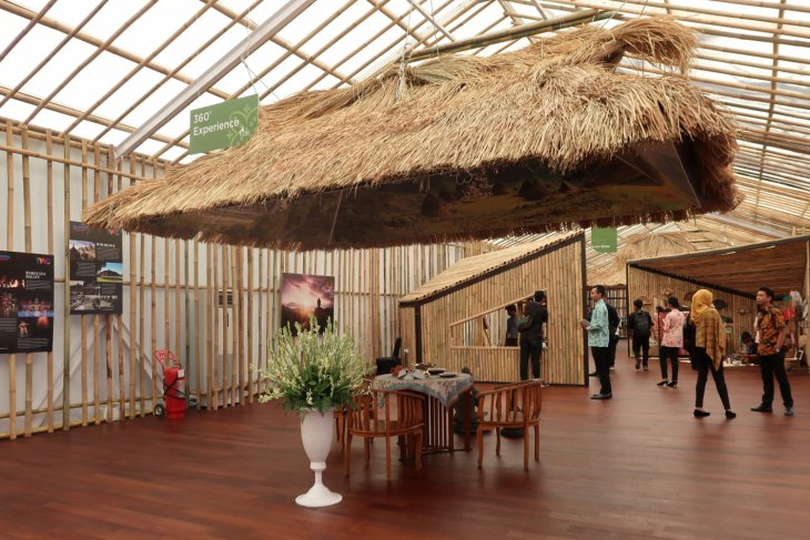 "State-owned companies introduce ""Balkondes"" in Indonesia Pavilion"