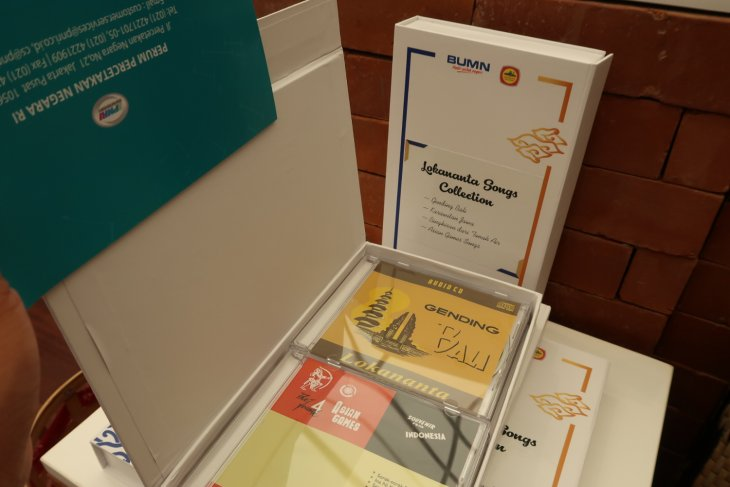 IMF-WB - Lokananta songs collection displayed in Indonesia Pavilion