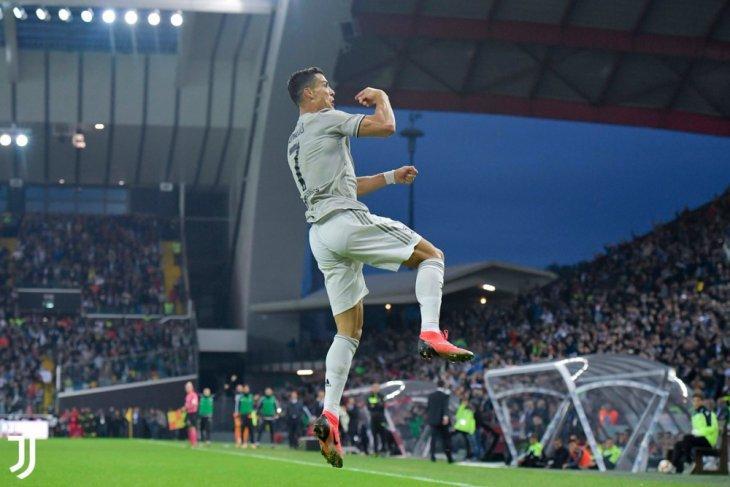 Juve terus melejit, menang 2-0 di markas Udinese