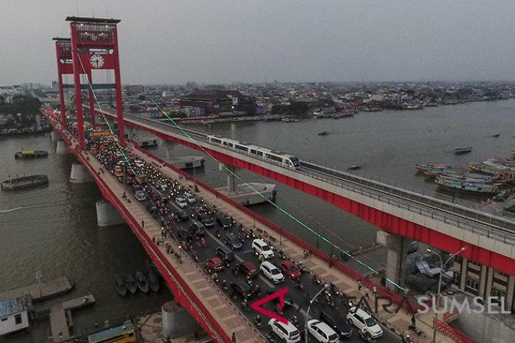 Jembatan Ampera Palembang akan ditutup sementara mulai 26 September