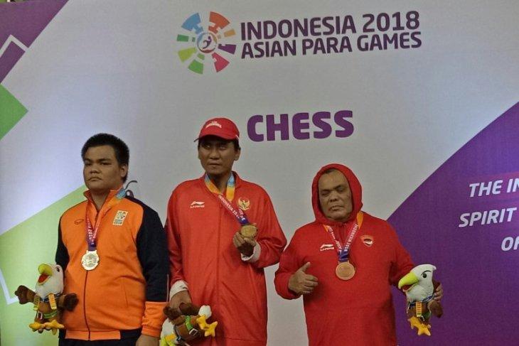 Asian Para Games - Tim Catur Indonesia Borong Enam Emas
