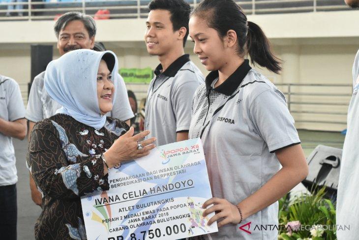 Pemkab Bogor berikan bonus atlet berprestasi