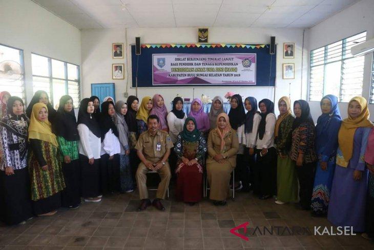 100 peserta ikuti Diklat berjenjang tingkat lanjut PAUD