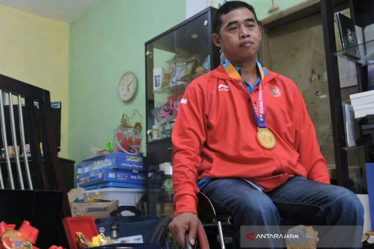 Atlet Situbondo Bangga Sumbang Emas Asian Para Games (Video)