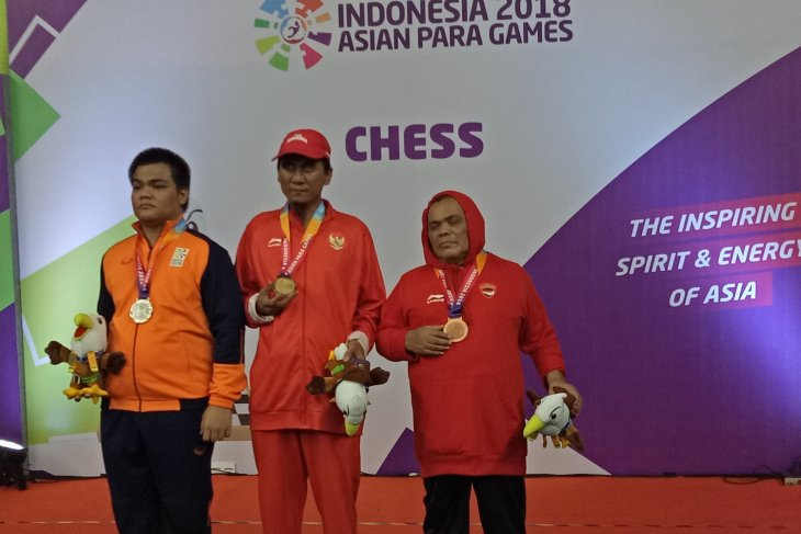 Asian Para Games - Indonesia wins two more gold medals in chess