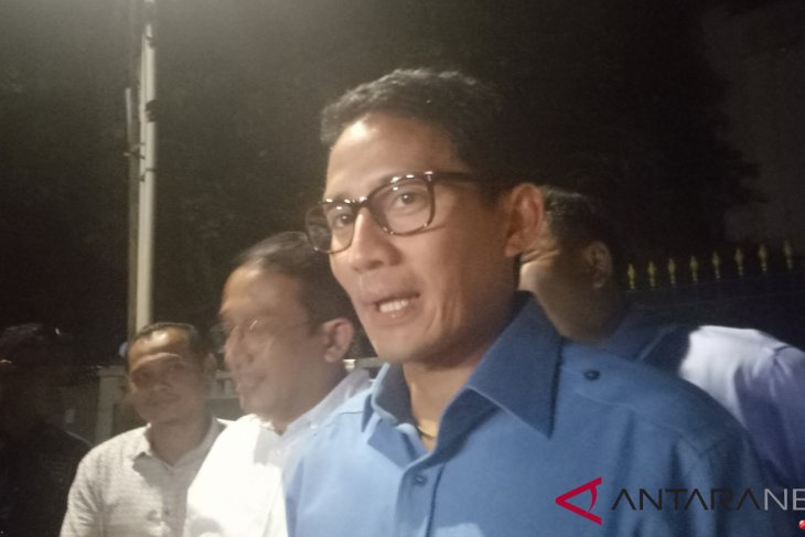 Sandiaga promises to form a national ok oce, if elected
