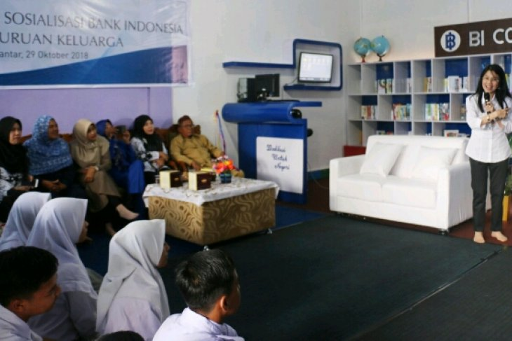 Bank Indonesia sumbang fasilitas perpustakaan sekolah