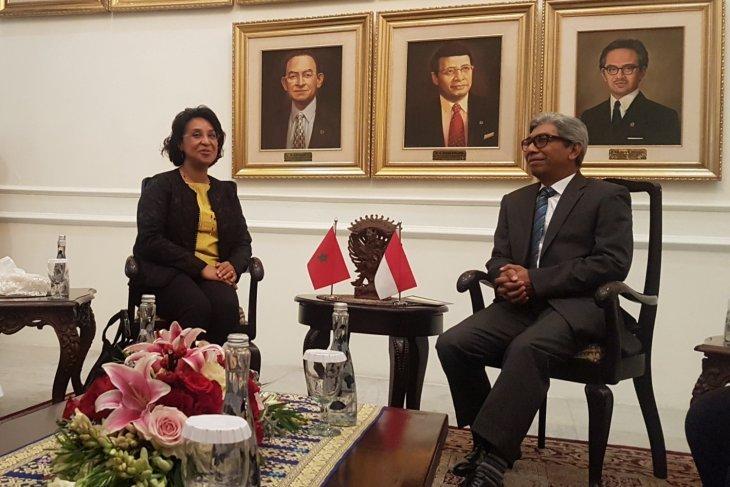 Indonesia-Maroko jajaki peningkatan volume perdagangan