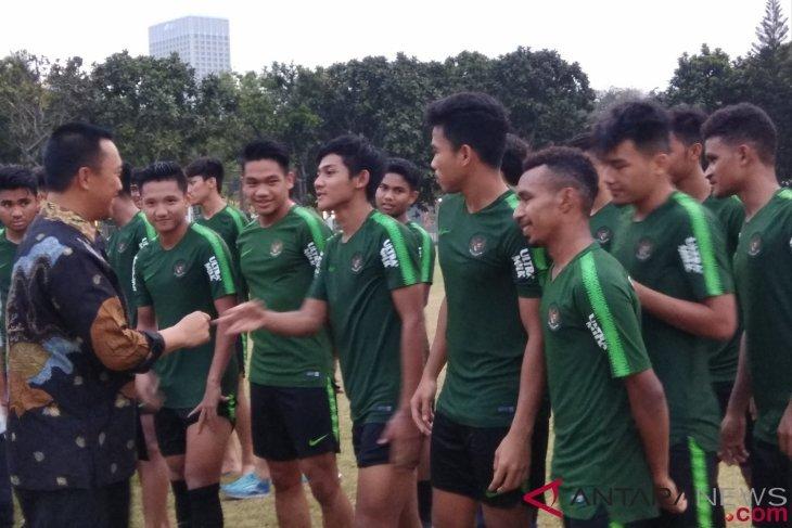 Menpora puji semangat timnas Indonesia songsong Piala Asia U-19